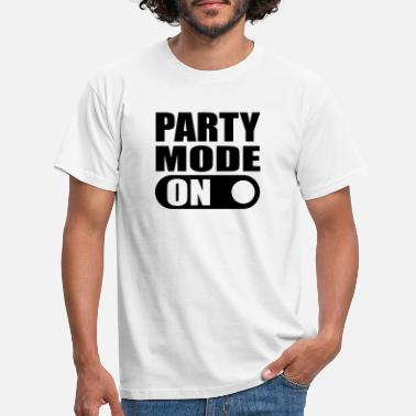 Bachelor Party party mode on - Men's T-Shirt