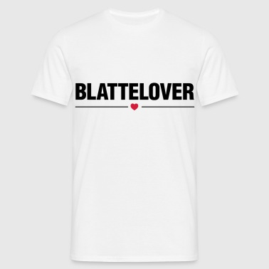 Blattelover - Svart text - T-shirt herr