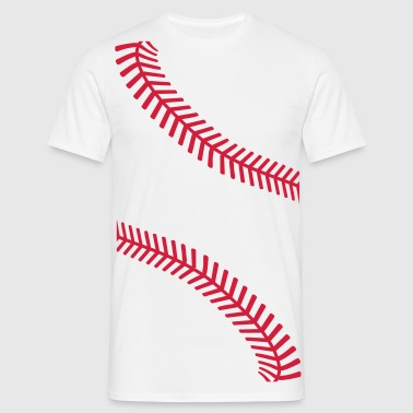 Baseball seams - Men's T-Shirt