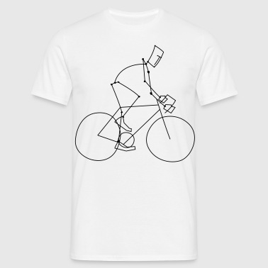 cycling sport - Herre-T-shirt