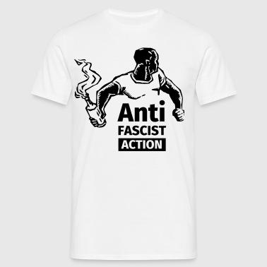 Anti-Fascist Action - T-shirt Homme
