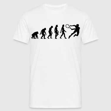 The Evolution of Tennis - Men's T-Shirt