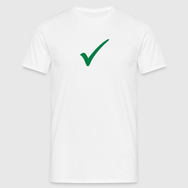 Men's T-Shirt - Ok right hook, Passed