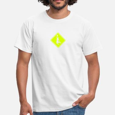 Roadsign Basketball Roadsign - Men's T-Shirt