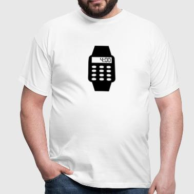 Digital Watch - Men's T-Shirt