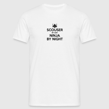 scouser day ninja by night - Men's T-Shirt