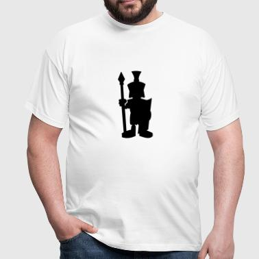 roman soldier silhouette - Men's T-Shirt