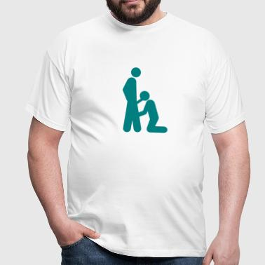 blowjob - Männer T-Shirt