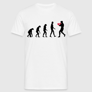 evolution boxing - T-shirt Homme