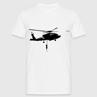 Helico intervention forces speciales - T-shirt Homme