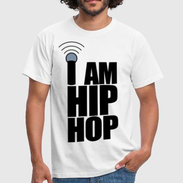 I Am Hip Hop - Herre-T-shirt