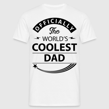 coolest dad - Men's T-Shirt