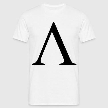 lambda greek - Männer T-Shirt