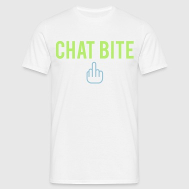 Chat bite - T-shirt Homme