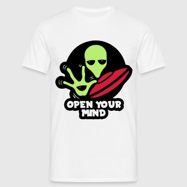 Alien Open your mind - Camiseta hombre