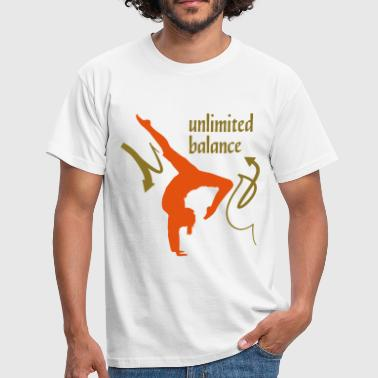 Unlimited Balance 2C - Mannen T-shirt