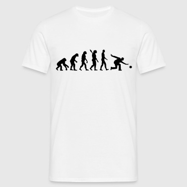 Evolution Bowling - Männer T-Shirt