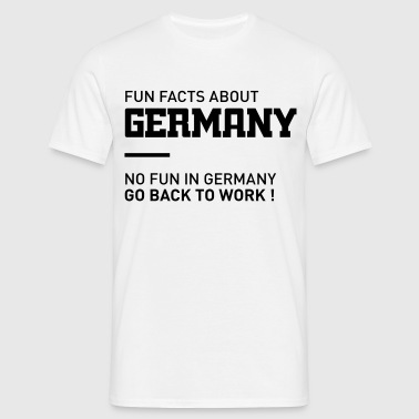 fun facts about germany - Männer T-Shirt