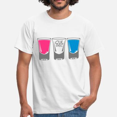 Shooter Alcool verre shooter alcool cul sec - T-shirt Homme