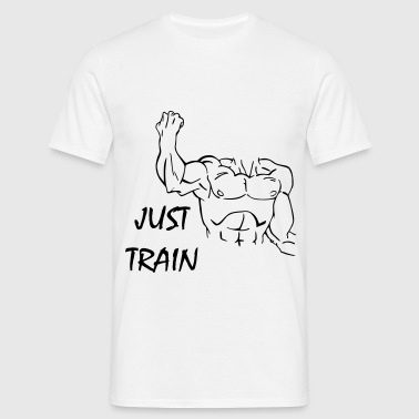 Just Train - T-skjorte for menn