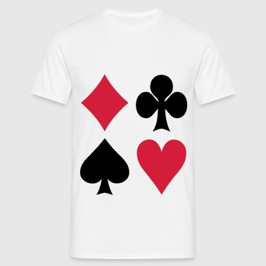 Poker - Cards - T-shirt Homme