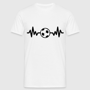 football soccer is life - Men's T-Shirt