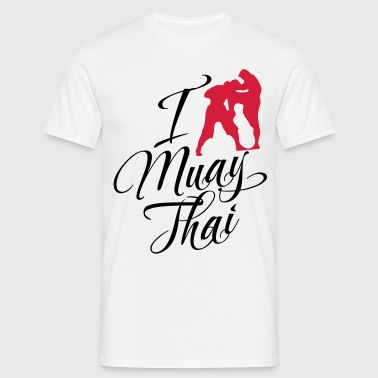 I Love Muay Thai - Men's T-Shirt