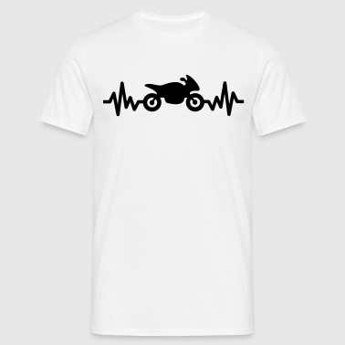 moto is life - T-shirt Homme