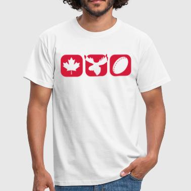 Canada boxes - T-shirt Homme