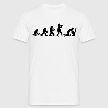 evolution_of_hangover - Mannen T-shirt