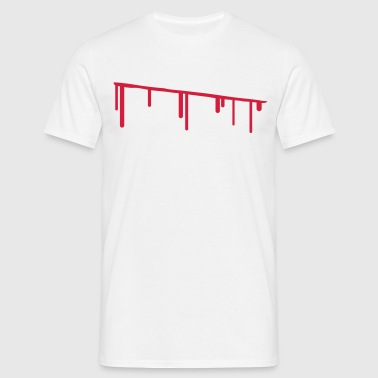 blood - Men's T-Shirt