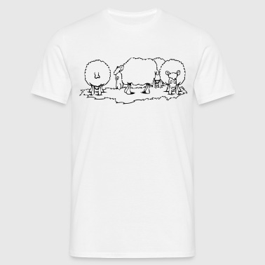 SHEEP herd - Men's T-Shirt