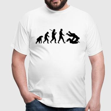 Evolution: Judo Jiu Jitsu - Men's T-Shirt
