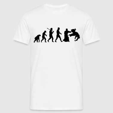 Evolution: Aïkido - T-shirt Homme