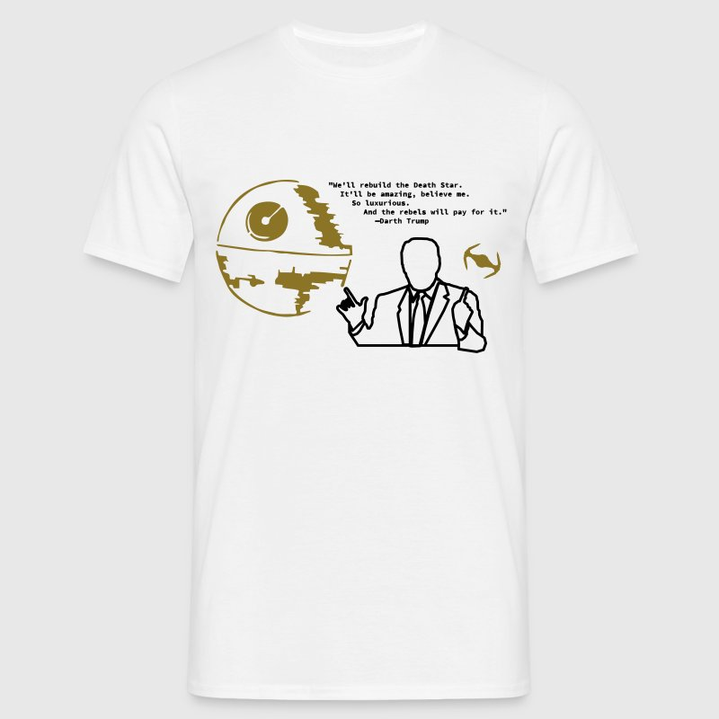 Darth Trump Gold - Männer T-Shirt