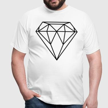 Diamant / Diamond (In every colour possible) - T-shirt herr