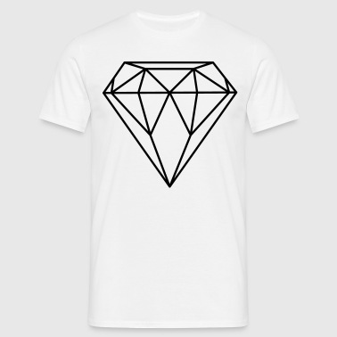 Diamant / Diamond (In every colour possible) - T-skjorte for menn