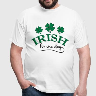 irish for one day - Männer T-Shirt