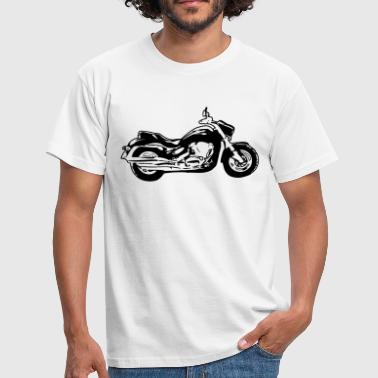motorcycle chopper - Men's T-Shirt