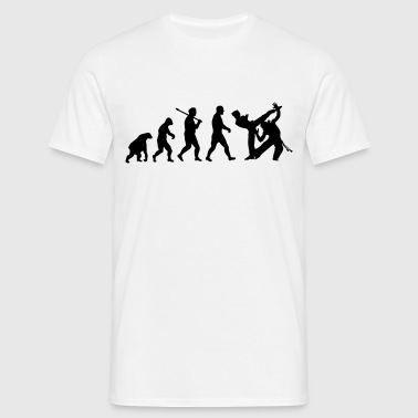 Evolution: Capoeira - T-shirt herr
