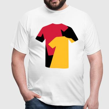 T-Shirt Collage - Herre-T-shirt