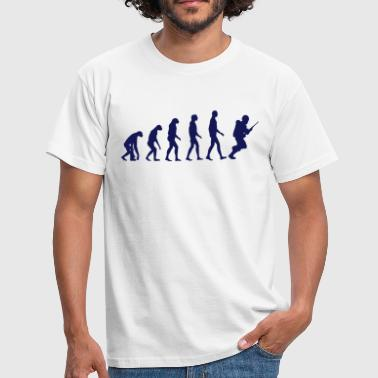 soldier evolution - Männer T-Shirt