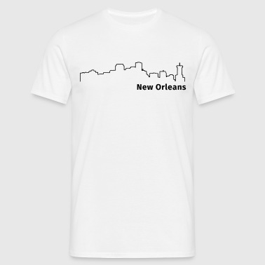 New Orleans - T-shirt herr