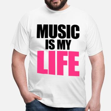 House Music Is My Life - T-shirt Homme
