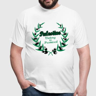 Palestine Wreath - Men's T-Shirt