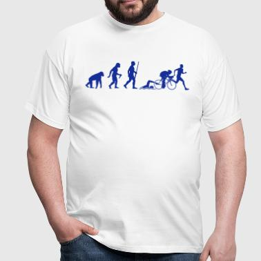 Triathlon Evolution - Männer T-Shirt