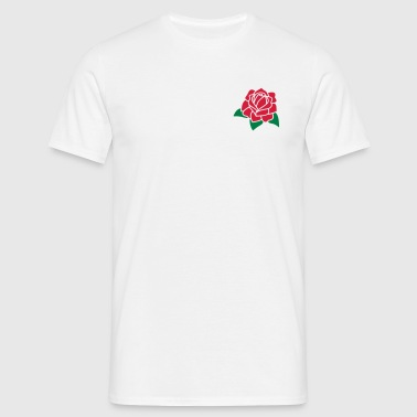 Rose Flower 2c - Men's T-Shirt