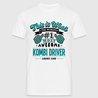kombi driver world no1 most awesome copy - T-skjorte for menn