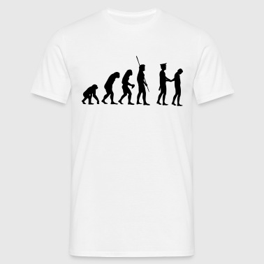 Evolution polisen arrestera  - T-shirt herr