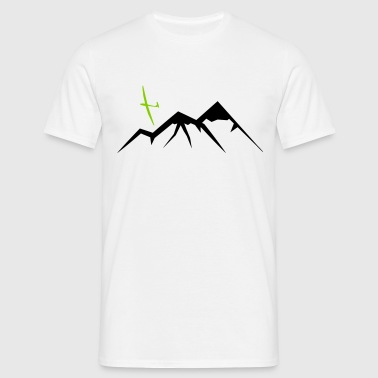 Mountain Soaring - Männer T-Shirt